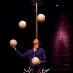 Image de Jonglerie du Grand Cirque de Ryu /photo of juggling in Ryu's Big Circus
